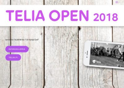 Telia Open 2018